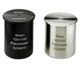 Sheen Specific Gravity Cups (Pyknometer)  Alloy and Stainless steel